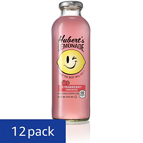 Review Hubert's Lemonade, Strawberry, 16 Ounce (Pack of 12)