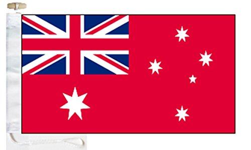 Australia Civil Red Ensign Courtesy Boat Flag - 1 Yard  - Ro