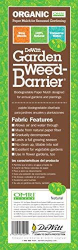 DeWitt NAT240RF Natural Garden Weed-Barrier