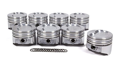 KB Performance Pistons KB303.030 SBF 351W D-Cup 2V Piston Set (4.030 Bore -19.5cc), 1 (1 Keith Black Pistons)