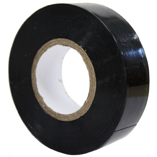 All Trade Direct 1X Black Electrical PVC Insulation Tape 19Mm X 20M Professional British Standard