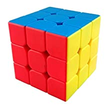 GoodCube New Yongjun YJ YuLong 3x3x3 Stickerless Speed Magic Cube 3 Layer Puzzle Cubes Toys For Kids