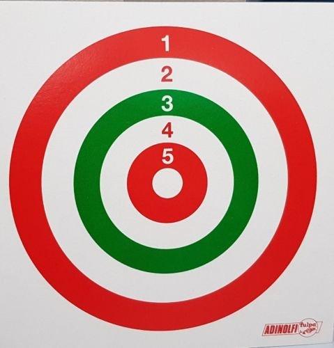 Gamo Bersagli Bersaglio per fucili pistola softair carabina ad aria compressa a piombini tiro a segno 14x14 di carta 100pezzi