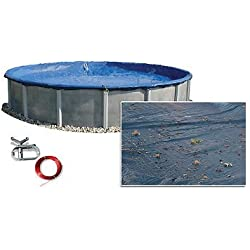 28' 27' ft Round Above Ground Swimming Pool Polar Winter Cover 10 Year Warranty
