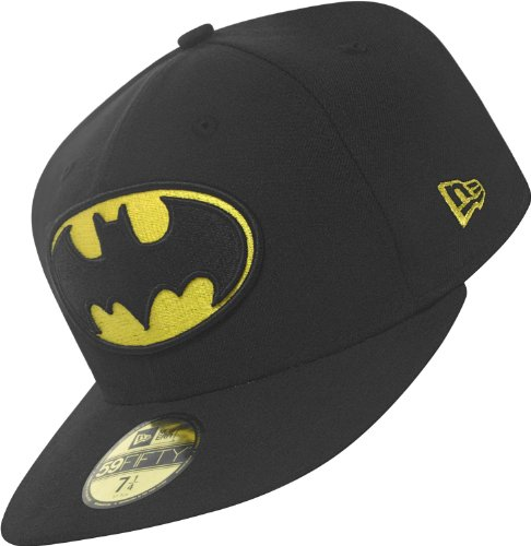 Character 1 NEW Gelb Batman Basic A hombre para Gorra Schwarz ERA qECwx4