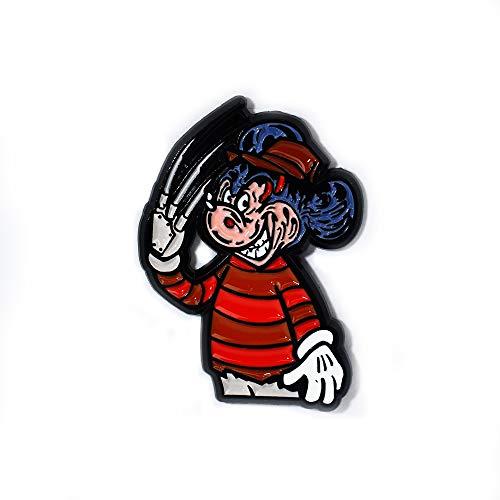 Freddy Krueger Mickey Nightmare on Elm Street Horror Movie Lapel Hat Pin Pendant