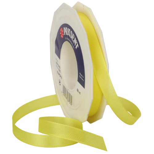Morex Ribbon Europa Taffeta Ribbon Spool, 5/8-Inch by 55-Yard, Yellow