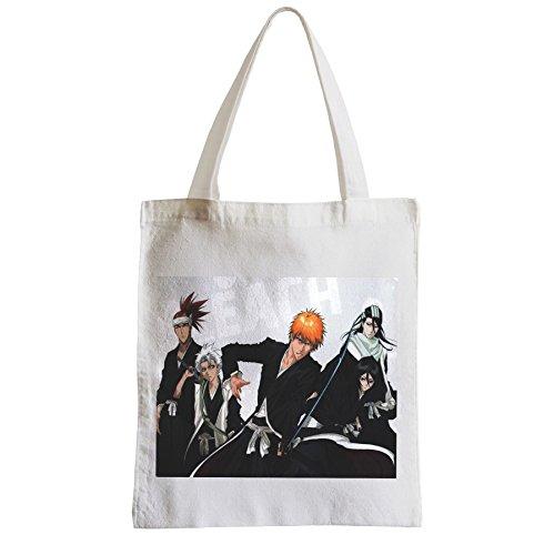 Große Tasche Sack Einkaufsbummel Strand Schüler Bleach manga Shonen anime shinigami