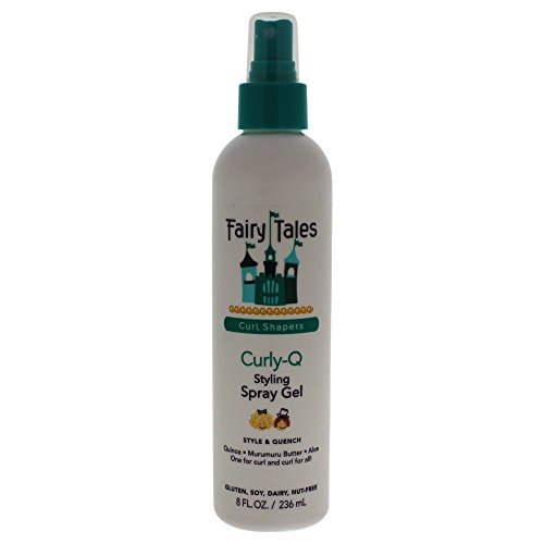 Fairy Tales Hair Care Curly-q Styling Spray Gel, 0.5 Pounds,