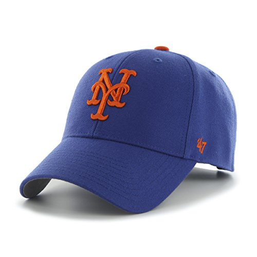 MLB New York Mets MVP Adjustable Hat, One Size -