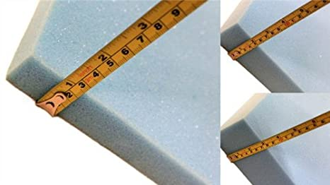 Panel de espuma para acolchado tapizado de asientos sofá clásico azul suave 183cm x 61cm con 7.5cm de grosor: Amazon.es: Juguetes y juegos