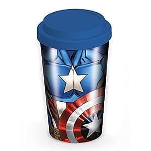 Marvel Captain America Travel Mug