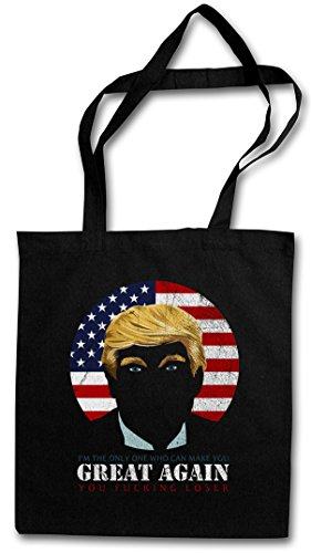 TRUMP HIPSTER BAG – Donald President USA US Bush Clinton Election Anti Pro Stars Stripes Star Spangled Banner Flag United States Of White House