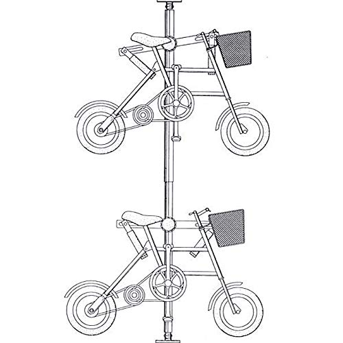Amazon Com Cyclingdeal 2 Bike Bicycle Hanger Parking Rack Storage