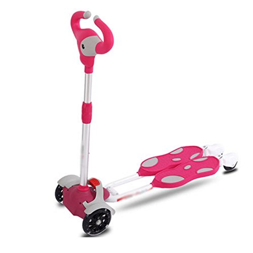 NAN Enfants de roue de rouleau d'enfants de scooter de ville d'amusement 4 couleurs ( Couleur : 3 )