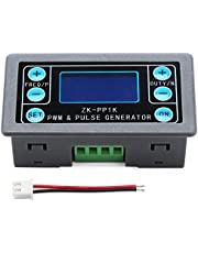 Bopfimer PWM Pulse Generator, Dual Mode Adjustable Function Generator Variable Pulse Width Frequency Duty Cycle Square Rectangular Wave Signal Generator Module