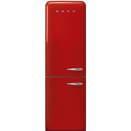 Smeg FAB32LRD3 nevera y congelador Independiente Rojo 331 L A+++ ...