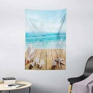 41Fu-TygekL._SS300_ Beach Tapestries & Coastal Tapestries