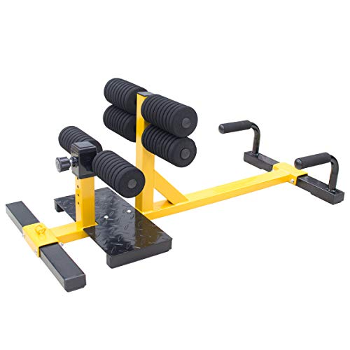 UBOWAY Sissy Squat – Push Up Ab Workout Home Gym Machine 3-in-1 Sit Up Machine for Home Gym Fitness Equipment