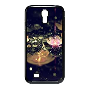 Water Lily Samsung Galaxy S4 9500 Cell Phone Case Black Jrrhf