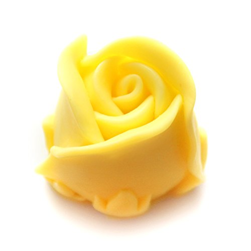 Allforhome(TM) 3D Rose Valentine's Day Wedding Gift Silicone Candle DIY Mold Craft Art Polymer Clay Mold Handmade Soap Candle Mould ()