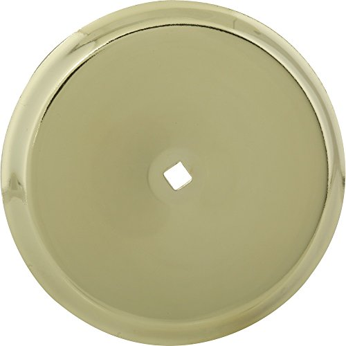 Universal 2491927 Anvil Mark Backplate, 2-3/4″ Diameter, Polished Brass (Pack of 5)