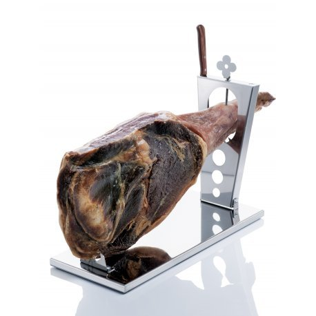 Don Hierro Folding ham stand in stainless steel 58