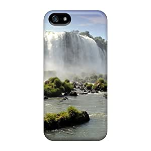 New Style Whystandlook Hard Cases Covers For Iphone 5/5s- Water Fall