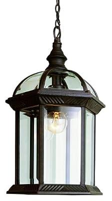 Trans Globe Lighting 19-Inch 1-Light Outdoor Hanging Lantern