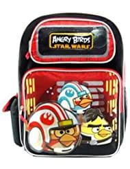 Red Angry Birds Star Wars Backpack Book Bag School