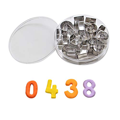 ShengHai Number Cookie Cutters -1.7