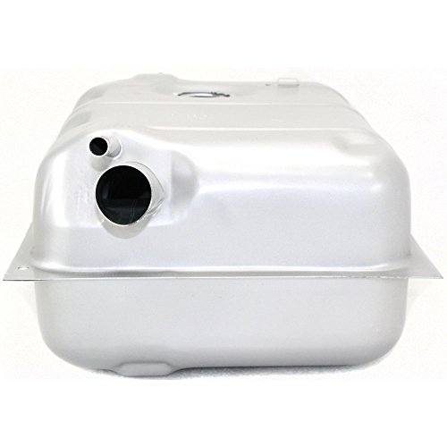 Evan-Fischer EVA13272027399 Fuel Tank for Jeep CJ-Series 73-76 Steel Silver 15 Gallon Capacity/57 Liters 25-1/4 X 18-1/4 X 10-7/8 In.