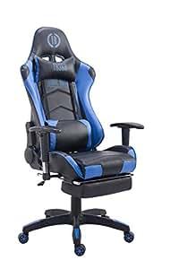 Silla de escritorio giratorio, Racing Gaming Chair, silla de oficina, silla de piel