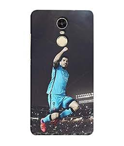 ColorKing Football suarez Uruguay 04 Multicolor shell case cover for Xiaomi Redmi Note 4