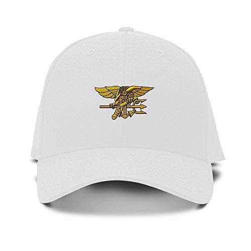 Militar de ajustable sombrero SEAL béisbol bordado S Blanco gorra Navy bordado U YgnqxtzRF