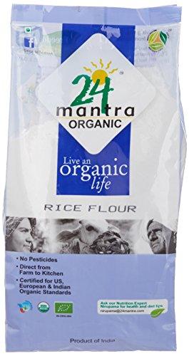 24 Mantra Organic Rice Flour, 500g