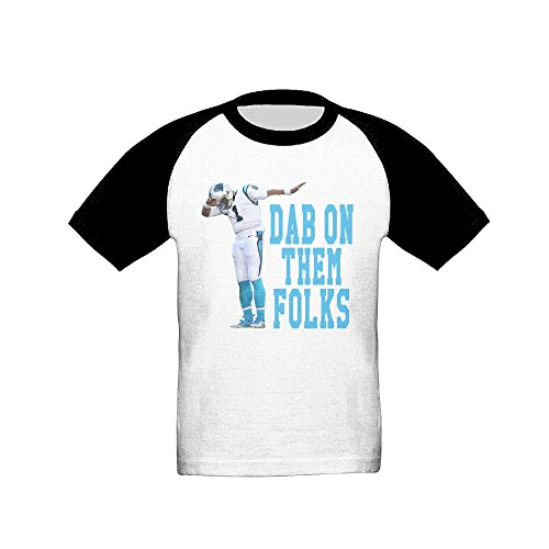 kids-age-2-6t-dab-on-them-folks-short-sleeve-raglan-baseball-t-shirt-casual-tees-for-boys-and-girls-