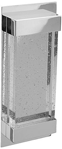 - WAC Lighting WS-12713-PN 13in Polished Nickel Mythical LED Wall Sconce, 13 Inches, Clear