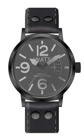 3a8746bf7f6d Watx vertical speed reloj para Hombre Analógico de Cuarzo con brazalete de  Piel de vaca RWA0241  Amazon.es  Relojes