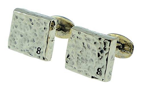 8-Year-Anniversary-Bronze-Cufflinks-8-Stamped-into-Corner-8th-Wedding-Anniversary-Gift-Idea