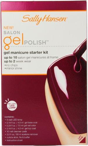 Sally Hansen Salon Pro Gel Starter Kit, Wine Not by Sally Hansen (Image #2)