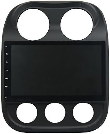 KUNFINE Android 9.0 8核自動車GPSナビゲーション マルチメディアプレーヤー 自動車音響 ジープ JEEP Compass 2014 2015 自動車ラジオハンドル制御WiFiブルースティスト