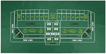 Printable craps dice chart