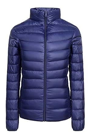 Amazon Com Womens Winter Packable Ultra Light Down Jacket