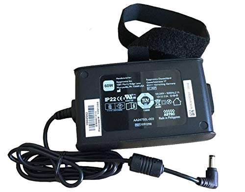 UpBright OEM 12V AC/DC Adapter for Philips Respironics Pro M Series 1015642 CPAP Machine 50 Series System One REMstar Auto A-Flex 550 REF 550P 1051158 1024563 AA24750L 001 1058190 MW115RA1200N05 PSU