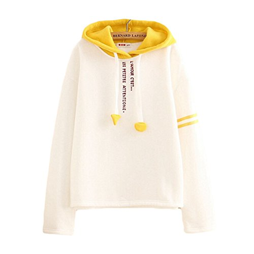 Jiu Ti-Mall Women's College Style Embroidery Simple Hooded Cotton - Style Clothes Ti