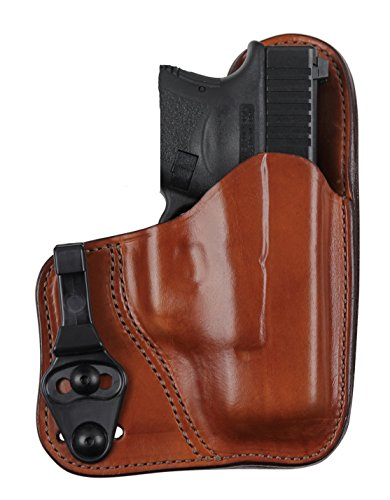 Bianchi Model 100T Professional Tuckable Holster Fits Colt Officer, Tan, Right