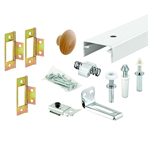Prime-Line Products 161794 Bi-Fold Closet Track Kit, 36-Inch (Door Hinges Bifold Closet)
