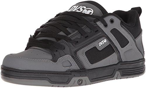 DVS Men's Comanche Skate Shoe, Black Charcoal Nubuck, 12 Medium US (Black Nubuck Skate Shoes)