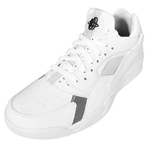 Air Flight Schuh Low Huarache Basketball White ppqTrd